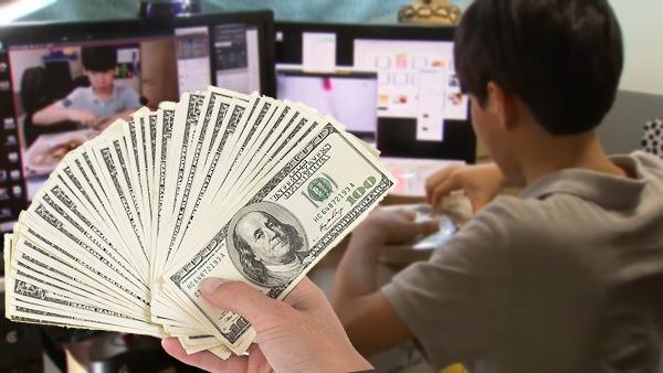 حول العالم - طفل كوري يكسب 1500 دولار يومياً