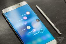 سامسونغ و هاتفها جالكسي نوت 7 إعادته إلى الأسواق في 2017