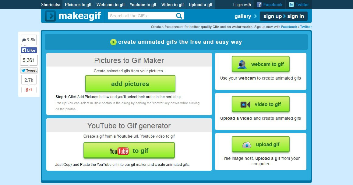 موقع متخصص بصناعة الرسوم المتحركة GIF